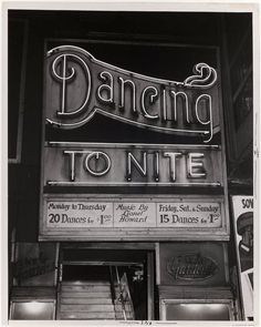 Dancing To Nite, c1940–50