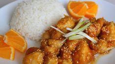 Egy eredeti kínai receptet mutatunk. Ezt ki kell próbálni, hiszen nagyon finom. Kicsit több időt igényel az elkészítése, de a végeredmény megéri. A narancslében megforgatott csirkehús csak úgy szétomlik a szánkba. 1. lépés: süssük meg a csirkét Hozzávalók: napraforgó olaj, 500 gramm apróra Cook Chicken In Crockpot, Crock Pot Chicken, Chicken Thigh Recipes, Orange Recipes, Top Recipes, Asian Recipes, Dinner Recipes, Tasty Videos, Food Videos