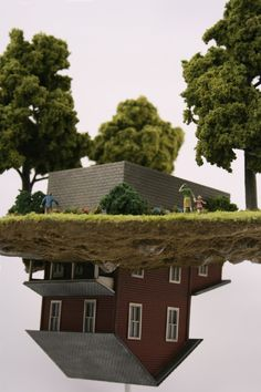 Thomas Doyle's Apocalyptic Dioramas Kitsch, Die O, Colossal Art, Contemporary Sculpture, Stop Motion, Small World, Ikebana, New Art, Art Dolls
