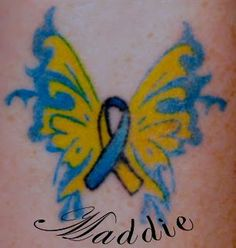 down syndrome ribbon tattoos - Google Search