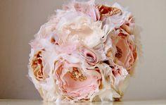 Fabric Wedding Bouquet Lace Bouquet, Fabric Bouquet, Fabric Flowers, Wedding Inspiration, Wedding Ideas, Wedding Fabric, Bridal Flowers, Wedding Bouquets, Beautiful Flowers