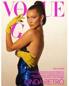 0d075060abb64 Bella Hadid  três vezes a top na edição de setembro da Vogue Brasil