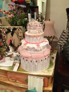 Paper Cakes from the shop Weathered Cottage in Round Rock Texas
