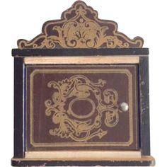 Rare Antique Beidermeier Key Holder from gingerhous1948 on Ruby Lane
