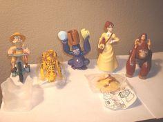 Walt Disney Tarzan 1999 5 Pc.Lot McDonald's Toy Cake topper  NWOP Happy Meal    eBay