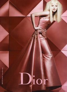 Christian Dior Fall Winter 2007 Advertising Campaign, Jessica Stam by Craig McDean.  Christian Dior F/W 2007 rtw