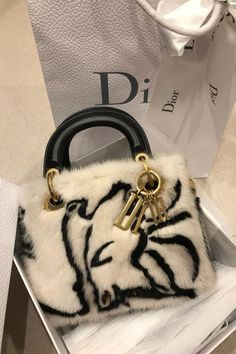 Bags 2018, Mini Hands, Christian Dior Vintage, Dior Handbags, Wallets For Women Leather, Hermes Bags, Mink Fur, Cute Bags, Lady Dior