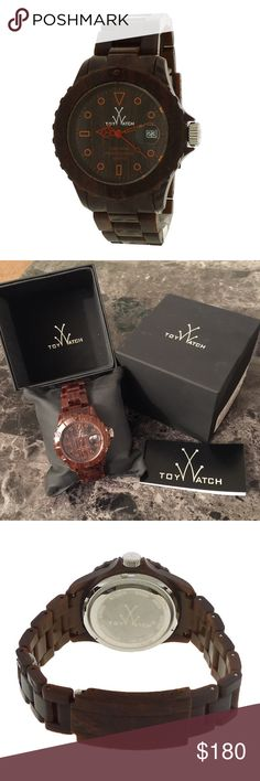 A U T H E N T I C    T O Y    W A T C H Brand new, in packaging authentic TOY watch. Retails at $210, Water resistant, with a screw down stem/crown. Comes with a warranty which verifies its authenticity. Never sized (had links taken out) so can be adjusted to fit you comfortably. It does have a working battery as well. 🚫ABSOLUTELY NO TRADES, HOLDS OR LOWBALLING!🚫 TOY Accessories Watches