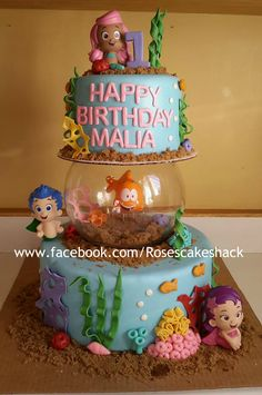 Bubble Guppies Cake More