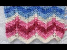 BAYAN Rengarenk Hırka Örgü Modeli - YouTube Easy Knitting Patterns, Knitting Stitches, Knitting Socks, Knitting Designs, Baby Patterns, Knitting Projects, Baby Knitting, Stitch Patterns, Crochet Crafts