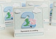 birthday invitations / Peppa Pig