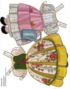 Paper Dolls~The Storyland Series - Bonnie Jones - Picasa Web Albums
