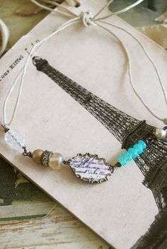 French connection. vintage style french by tiedupmemories on Etsy, $12.00