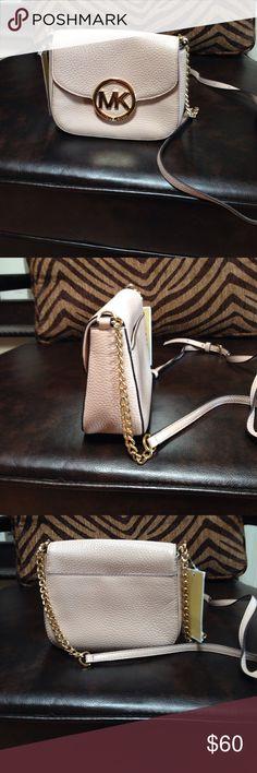 Brand new Michael Kors crossbody Small leather crossbody in Blush by Michael Kors. Brand new Michael Kors Bags Crossbody Bags
