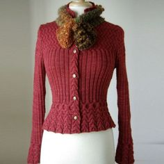Beautiful cardigan. Dead link. For inspiration