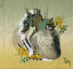 Collage Artworks Inspiration from kohlage