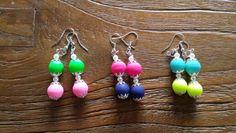 Leuke  kleurrijke oorbellen