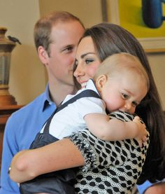 Cuddling With Kate from Prince George's First Royal Tour | E! Online