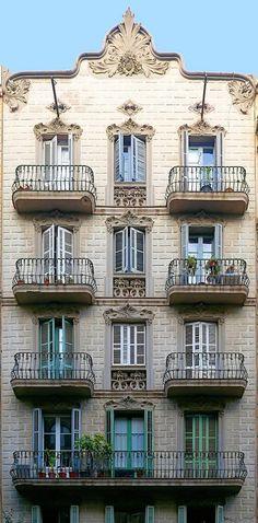 Casa Josep Martí  1903  Architect: Ramon Ribera i Rodríguez