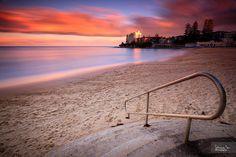 Cronulla beach, Sydney, Australia.  spent a lot of time here