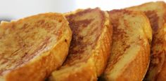 DASH Diet Sweet Cinnamon French Toast