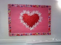 February Bulletin Board *hand for the heart.. #nextyearschool show your love for CGC? ;)