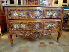 Commode Provençale époque XVIIIème Siècle, Laurence Helmer et Maison James, Proantic
