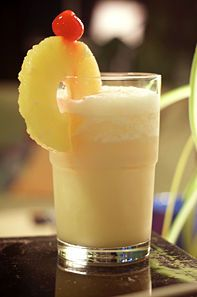 Make Pina Colada Jello Shots