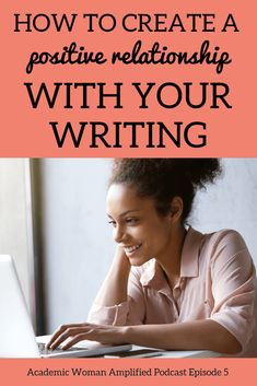 When you think about writing, do you feel excited, happy, and encouraged? Or do you feel guilty, sad, and overwhelmed? Having a positive relationship with your writing is vital to producing the quality and quantity of work required as an academic. You're a better teacher, researcher, and human when you feel good about your writing. In this episode I'm giving you actionable steps to take to improve how you feel and think about writing. #academicwriting #mindset #consistencyiskey…
