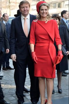 Queens & Princesses -  King Willem Alexander and Queen Maxima concluded their visit to Germany by visiting Hamburg, where they were able to attend the eclipse.