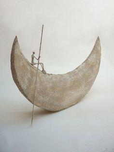 """""""L'auditor de nit"""" (El controlador de la nit), 2010 Escultura per Anthony Josse"""