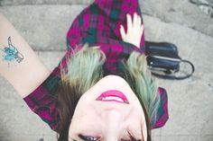 Melina Souza - Serendipity <3  http://melinasouza.com/2015/05/20/london-like/  #Tattoo #Melina Souza  #Plaid