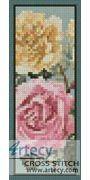 Yellow and Pink Roses Bookmark Counted Cross Stitch Pattern http://www.artecyshop.com/index.php?main_page=product_info&cPath=26&products_id=1269