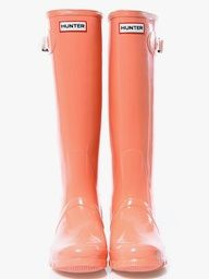 Hunter Coral Boots....