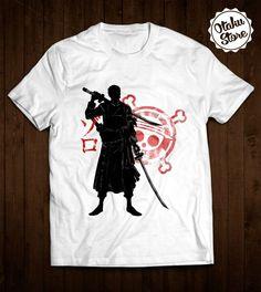 "Anime ""One Piece"" t-shirt. Anime DTG print."