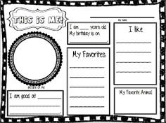 First Day of School Activities pack, grades 1-3. FREE download !!