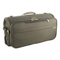ab912e0a5b6 Briggs   Riley Baseline Compact Garment Bag. Briggs And RileyCarry On  LuggageGarment BagsZipper PullsSport CoatTravel PhotosCompactTri  FoldSuitcase