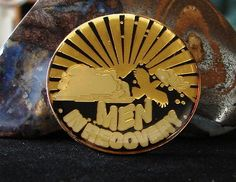 Alcoholics Anonymous Men in Recovery Medallion Gold Plated AA NA Narcotics | eBay