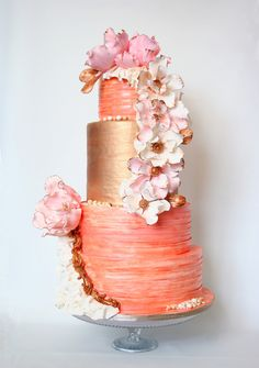 Indian Weddings Inspirations. Orange Wedding Cake. Repinned by #indianweddingsmag indianweddingsmag.com #weddingcake-fashioninspirationwedding_saraed21509-4.jpg
