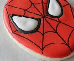 Spiderman Cookies Tutorial