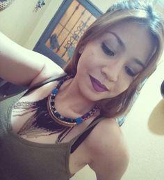 "Saturday night! (Make up) labial: milani amor mate ""fascination""😍"