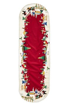 New World Arts Large Snowman Village Table Runner available at #Nordstrom $269.00