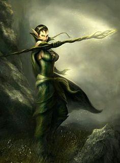 Resultado de imagen para female elf d&d druid