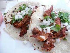 Tacos al Pastor At Home Thanks to Steven Raichlen Grilling Recipes, Meat Recipes, Mexican Food Recipes, Cooking Recipes, Healthy Recipes, Ethnic Recipes, Vitamix Recipes, Mexican Main Dishes, Denver Food