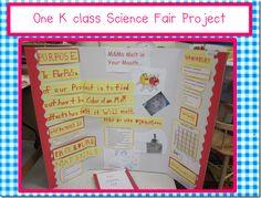kindergarten science project