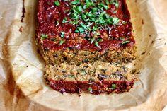 Meatless Monday, Meatloaf, Nom Nom, Ketchup, Veggies, Favorite Recipes, Mondays, Food, Mushroom