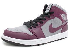 NIKE AIR JORDAN 1 PHAT [BORDEAUX/STEALTH BLACK] 364770-605