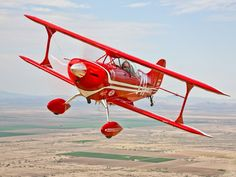 A Pitts Special S-2A Aerobatic Biplane in Flight Near Chandler, Arizona Photographic Print at AllPosters.com