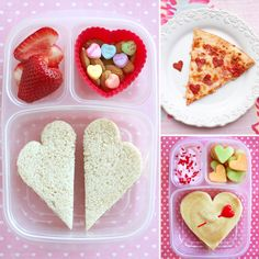 cute ideas for making your kids lunch for valentines day :)  I will have to think about this one...don't want it to be too girly!