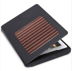The #Solar Charging #iPad Case. Yes man! No more chargers!